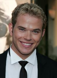 Kellan Lutz at the premiere of