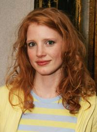 Jessica Chastain at the creative coalition VIP
