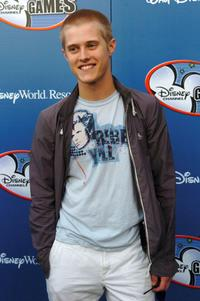Lucas Grabeel at the Disney Channel Games 2007 All-Star party.