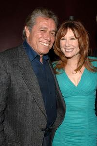 Mary McDonnell and Edward James Olmos at the