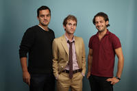 Jake Johnson, director Max Winkler and Michael Angarano at the 2010 Toronto International Film Festival in Canada.