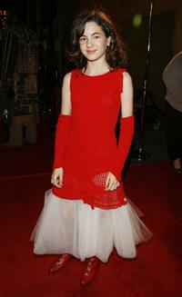Ivana Baquero at the special screening of