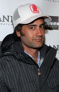 Taika Waititi at the Groundswell Production's Sundance party during the 2008 Sundance Film Festival.