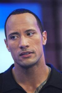 Dwayne Johnson at the taping of BET 106 and Park.