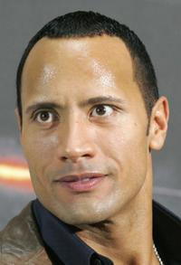 Dwayne Johnson at the German photocall of