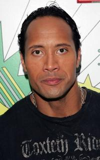 Dwayne Johnson at the MTV's Total Request Live.
