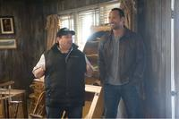 Andy Fickman and Dwayne Johnson in