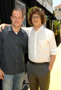 Director Kirk DeMicco and Andy Samberg at the premiere of
