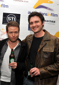 Henry Nixon and Toby Moore at the Australians In film California premiere of