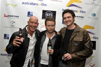 Gary Sweet, Henry Nixon and Toby Moore at the Australians In film California premiere of