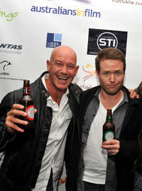 Gary Sweet and Henry Nixon at the Australians In film California premiere of