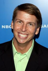 Jack McBrayer at the NBC Universal Experience during the upfront week.