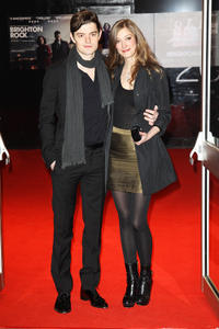 Sam Riley and Alexandra Maria Lara at the red carpet of the European Premiere of