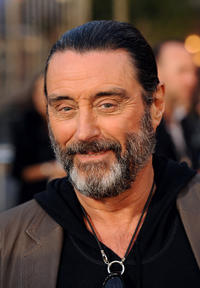 Ian McShane at the California premiere of