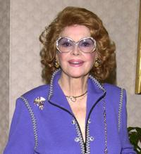 Jayne Meadows at the Annual Literacy in Media Awards.