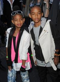 Willow Smith and Jaden Smith at the Los Angeles premiere of