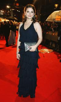 Hayley Atwell at the Orange British Academy Film Awards 2009.
