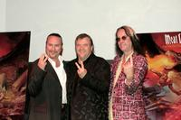 Meat Loaf, Desmond Child and Todd Rundgren at the Press conference for Meat Loaf's ''Bat Out Of Hell 3'' Listening Party.