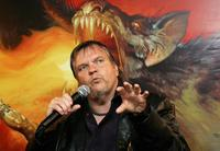 Meat Loaf at the Press Conference.