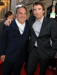 Jim Gianopulos and Sharlto Copley at the California premiere of