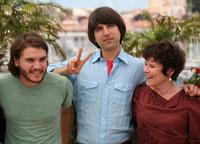 Emile Hirsch, Demetri Martin and Imelda Staunton at the photocall of