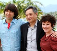 Demetri Martin, Ang Lee and Imelda Staunton at the photocall of