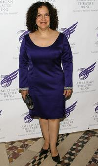 Olga Merediz at the American Theatre Wing's Annual Spring Gala.