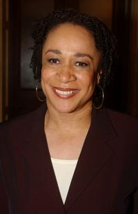 S. Epatha Merkerson at the press conference of