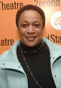 S. Epatha Merkerson at the off-Broadway opening of
