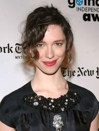 Rebecca Hall at the 18th Annual Gotham Independent Film Awards.