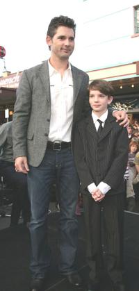 Eric Bana and Kodi Smit-McPhee at the world premiere of
