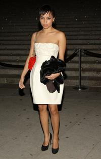 Zoe Kravitz at the Vanity Fair party during the 2008 Tribeca Film Festival.