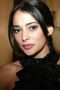 Natalie Martinez at the launch of MyNetwork TV.