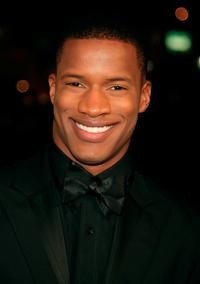 Nate Parker at the premiere of