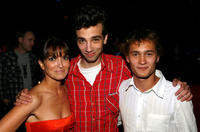 Writer Lorene Scafaria, Jay Baruchel and Rafi Gavron at the after party of the premiere of