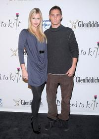 Claire Holt and Rafi Gavron at the