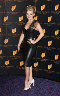 Sheridan Smith at the RTS Programme Awards in London.