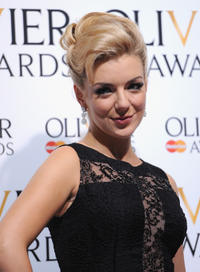 Sheridan Smith at the Laurence Olivier Awards in London.
