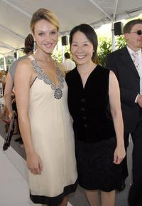 Beau Garrett and Dr. Helena Chang at the Couture Cares: A Benefit for Breast Cancer.