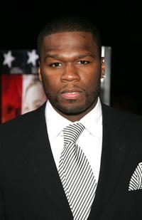 Curtis Jackson at the world premiere of