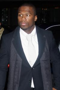 Curtis Jackson at the Pre-party of World Music awards.