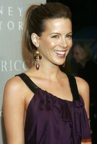 Kate Beckinsale at the Nina Ricci Fall 2006 Collection fashion show to benefit The Rape Foundation.