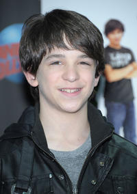 Zachary Gordon at the New York premiere of