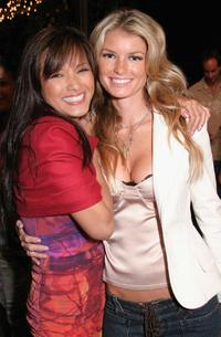 Kelly Hu and Marisa Miller at the Surfrider Foundation's 20th Anniversary Gala.