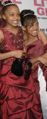 Lauryn McClain and China Anne McClain at the premiere of
