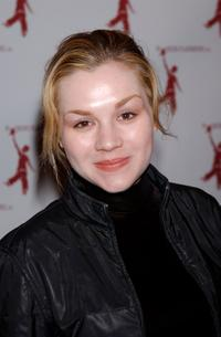 Rachel Miner at the Love Letters To America: Working Playground Benefit.