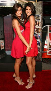 Electra Avellan and Elise Avellan at the premiere of