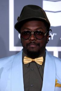 will.i.am at the 51st Annual Grammy Awards.