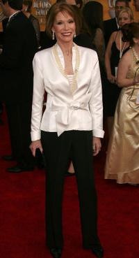 Mary Tyler Moore at the 13th Annual Screen Actors Guild Awards.