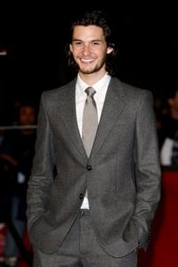 Ben Barnes at the premiere of